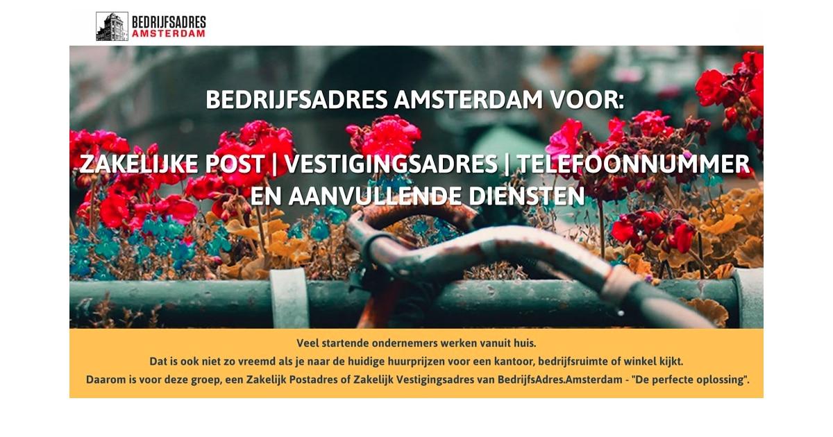 BedrijfsAdres Amsterdam - Zakelijk Post en Vestigingsadressen